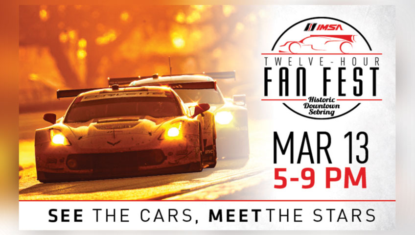 12 Hour Fan Fest – See The Cars, Meet The Stars!